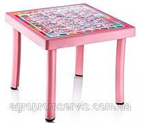 Столик детский с рисунком 50х50 IRAK PLASTIK