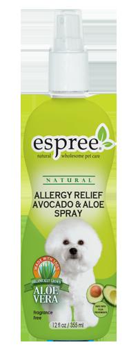 Спрей Espree Allergy Relief Avocado & Aloe Spray для чувствит шкіри з маслом авокадо і алое вера 355