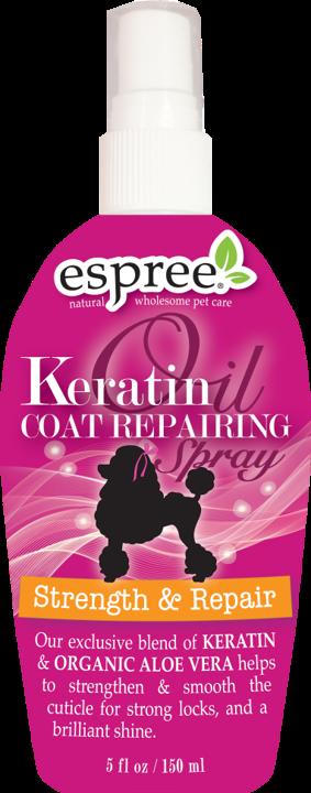 Спрей Espree Keratin Coat Repairing Spray з кератином для соб укріплений і відновлення 150 мл