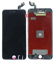 Дисплей (LCD) iPhone 6S Plus с сенсором чёрный оригинал (переклейка)