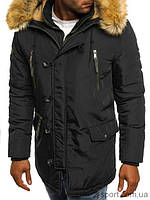 Куртка зимняя мужская J.Boyz JP-1045 черная XXL