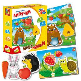 Игра Vladi Toys Вкусняшки с липучками (Рус) (VT1302-18)