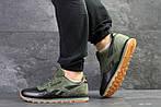 Мужские кроссовки Reebok (зеленые), фото 2