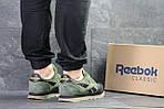 Мужские кроссовки Reebok (зеленые), фото 4