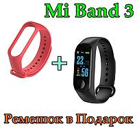 Фитнес браслет Smart Bracelet Mi Band M3 - USB. Цветной Экран UWatch M3 Smart Bracelet. Фитнес-браслет M3