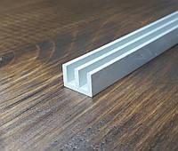 Алюминиевый Ш профиль 15х10х2 анод