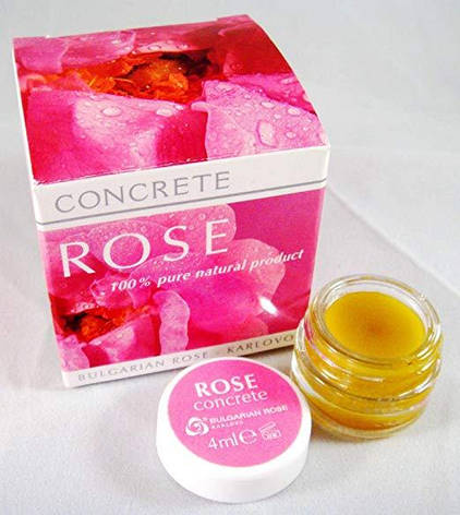 Натуральный конкрет Розы из болгарских цветов Rose Damascena 4 гр, фото 2