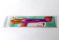 Набор широких кисточек для росписи пряников и декорации кондитерских изделий 18см