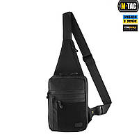 M-Tac сумка-кобура наплечная Elite Gen.IV с липучкой Black