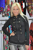 Пиджак Гусарик черный, фото 1