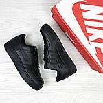 Женские кроссовки Nike Air Force (черные) , фото 4