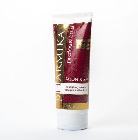 Крем питательный с коллагеном и витамином Е - Noisturizing cream collagen+vitamin E pHarmika 200 мл
