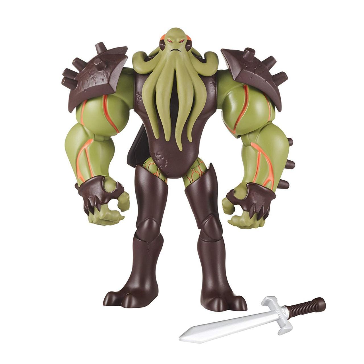 Бен Тен 10 Перезагрузка - Вилгакс, Ben 10: Vilgax with Battle Sword Action Figure, оригинал из США