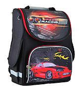 Ранец каркасный школьный Smart 554547 PG-11 Speed racing (34*26*14см) черный для мальчика