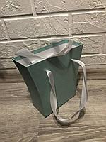 Картонная коробка под цветы ''сумка-трапеция 2'' с ручками 200/150*75*200