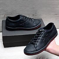 Кожаная обувь в стиле Philipp Plein, фото 1