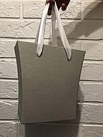 Картонная коробка под цветы ''сумка-трапеция 4'' 200/150*75*200