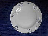 Будянский фаянс Тарелка фаянсовая мелкая 240мм Сад (34-117)