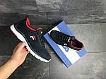 Мужские кроссовки Fila (темно-синие с белым), фото 6