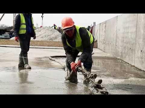 Промислові підлоги. Монолітні бетонні роботи.с
