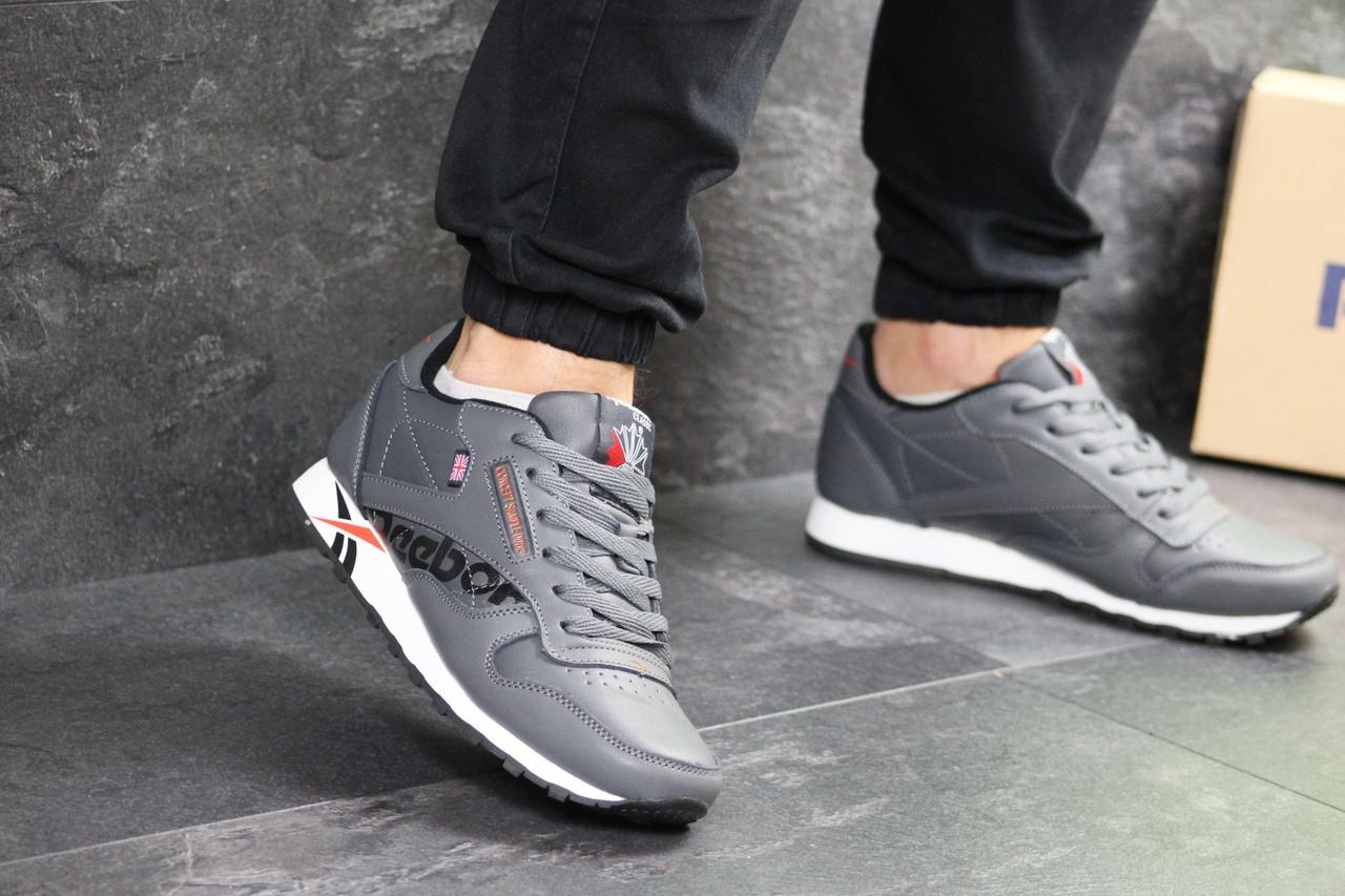 Мужские кроссовки Reebok (Серые)
