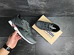 Мужские кроссовки Reebok (Серые) , фото 4