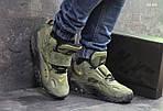 Чоловічі кросівки Nike (зелені), фото 3