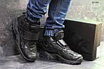 Мужские кроссовки Nike (Черные), фото 4