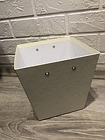 Картонная коробка под цветы ''трапеция'' 200*150*200