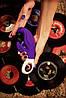 Вибратор со стимуляцией точки G и клитора Fun Factory LADY BI фиолетовый, фото 6