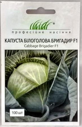 Капуста Бригадир F1 100н (Проф насіння)