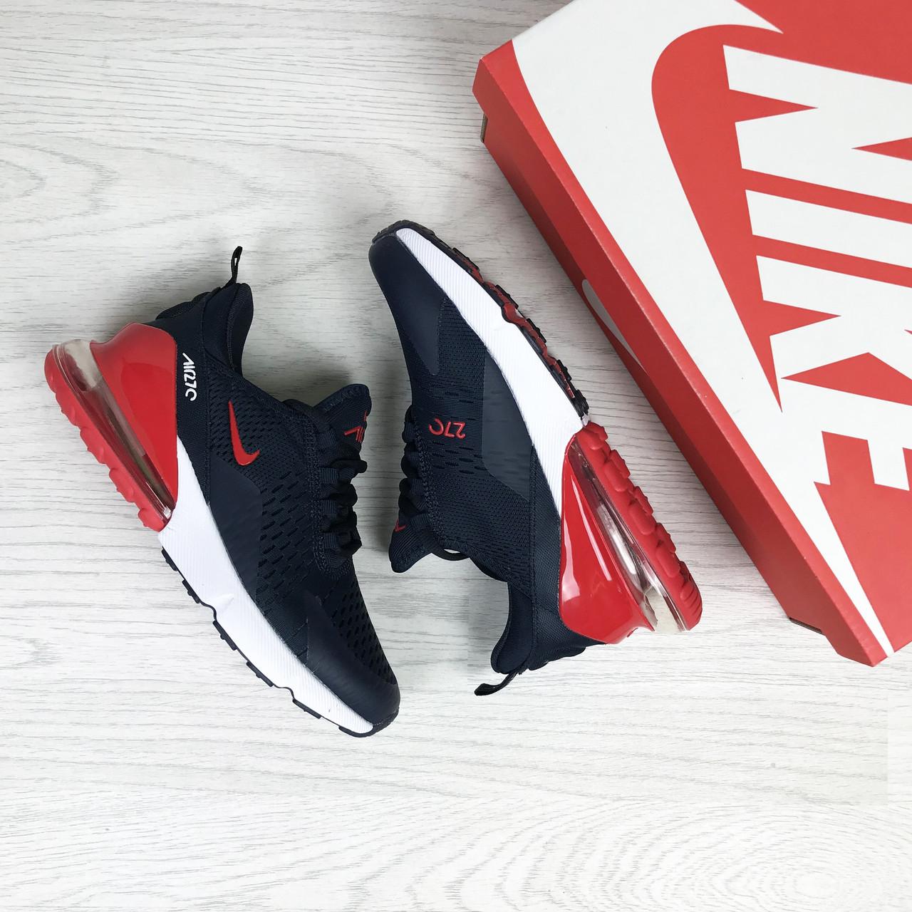 c3231996 Женские кроссовки Nike Air Max 270 синие (Реплика ААА+) - купить по ...