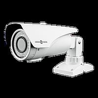 Гибридная Наружная видеокамера Green Vision GV-066-GHD-G-COS20V-40 Gray 1080P