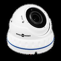 Гибридная антивандальная камера Green Vision GV-085-GHD-H-DOF40V-30 1080Р