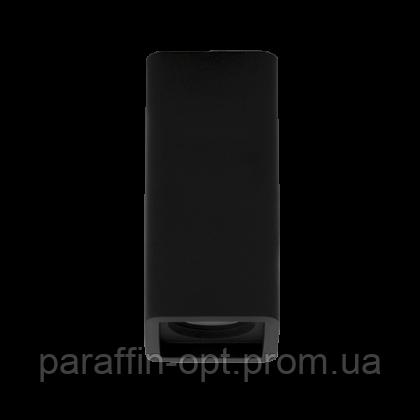 Світильники гіпсові накладні ГН 15 MR16, макс. 8W чорний, фото 2