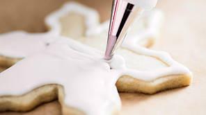 Глазурь белая для украшения кондитерских изделий