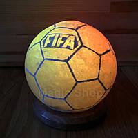 Соляная лампа ночник HealthLamp Мяч 2 кг с регулятором яркости