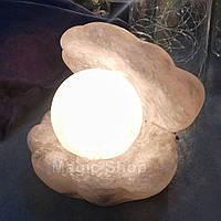 Соляная лампа ночник HealthLamp Жемчужина 6 кг с регулятором яркости