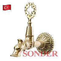 Кран для турецкой бани, хаммама Sonder 012 Z (золото)