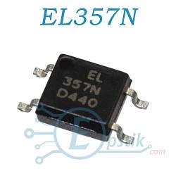 EL357N, (PC357), оптрон, SOP4