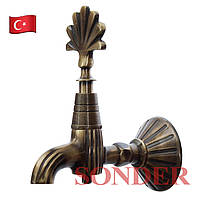 Кран для турецкой бани, хаммама Sonder 003 B (бронза)