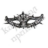 Кружевная маска Загадка интрига (черная)