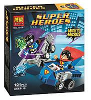 Конструктор Bela 10667 Супергерои Супермен против Бизарро (аналог Lego Super Heroes 76068)