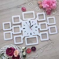 Настенные часы с фото 12 шт