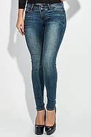 Джинсы женские с круглыми карманами 265V001 (Синий) 43f7ffbebcb4c