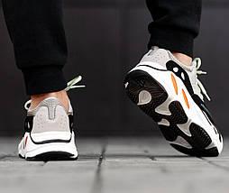 Мужские и женские кроссовки Adidas Yeezy Wave Runner Boost 700 Grey, фото 3