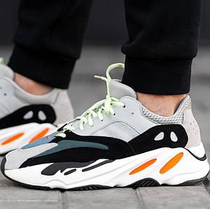 Женские и мужские кроссовки Adidas Yeezy Wave Runner Boost 700 Grey