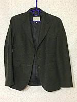 Шикарный шерстяной жакет шотландская шерсть , фото 1