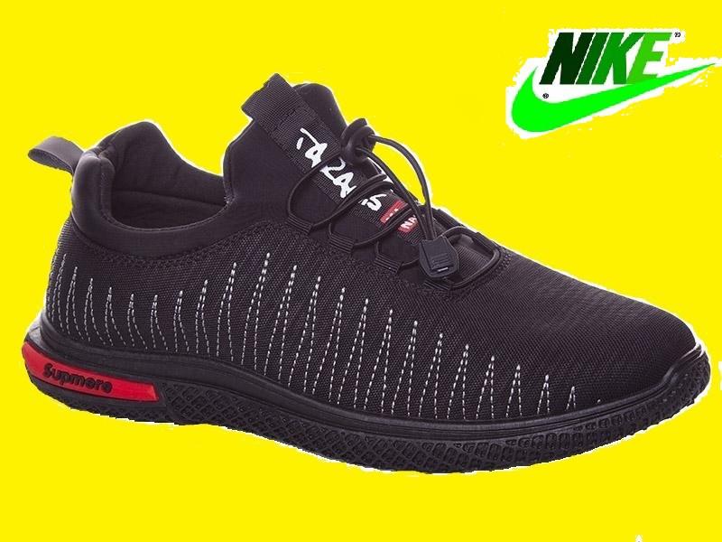 827b9a2e Кроссовки Найк (Nike) Air Max Fluknit Supreme, мужские кроссовки весна  лето. Реплика