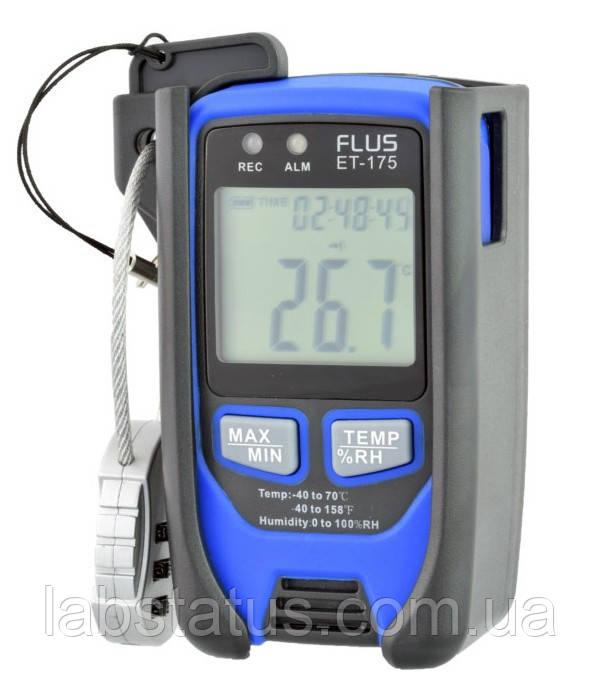 Логгер - регистратор температуры и влажности FLUS ET175